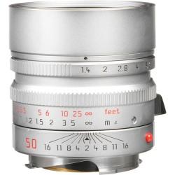Leica Summilux-M 50mm f/1.4 ASPH. Lens (Silver) Brand New