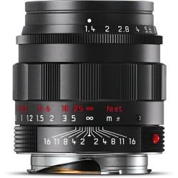 Leica Summilux-M 50mm f/1.4 ASPH Black Chrome finish 11688