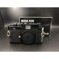 Voigtlander Bessa R3M Film Camera Black Brand New