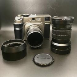 Mamiya 7 Film Camera With 80mm F/4 Lens And 150mm F/4.5 Lens