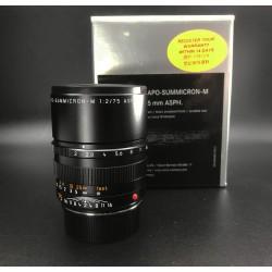 Leica Apo-Summicron -M 75mm F/2 Asph