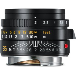 Leica Summicron-M 35mm f/2 ASPH Lens (Black) 11673
