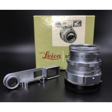 Leica Summicron 50mm F/2 Googles