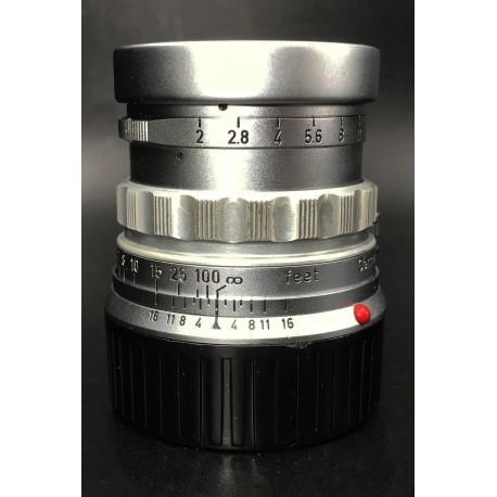 Leica Summicron 50mm F/2 Rigid