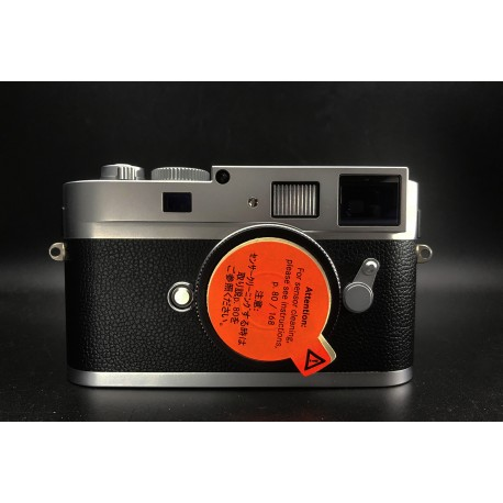 Leica Monochrom Digital Camera Silver Chrome Finish 10787