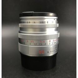 Leica Summicron-M 50mm F/2 Silver 11816