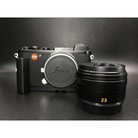 Leica CL Digital Camera With Summicron-TL 23mm F/2 Asph & M-7 Adaptor