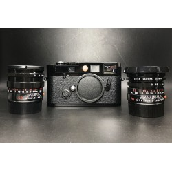 Leica M6 TTL 0.72Film Camera With 35mm F/2 Asph Lens & 50mm F/1.4 Lens Black Paint Millenium Set