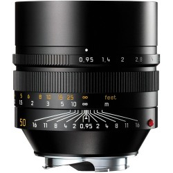 LEICA NOCTILUX-M 50 mm f/0.95 ASPH Black Brand New 11602