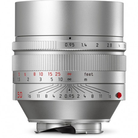Leica Noctilux-M 50mm f/0.95 ASPH Lens (Silver) 11667 Brand New