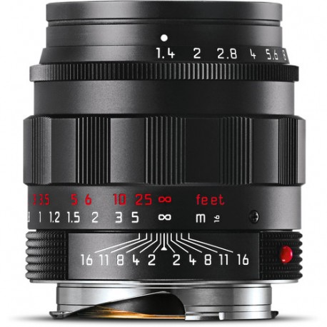 Leica Summilux-M 50mm f/1.4 ASPH Black Chrome finish 11688 (Brand New)