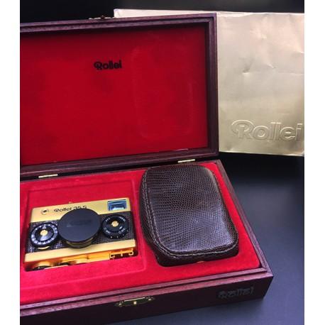 Rollei 35s Gold Film Camera