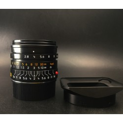 Leica Summicron-M 28mm F/2 Asph (11672) Black