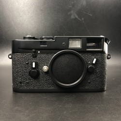 Leica m4 Film Camera Original Black Chrome