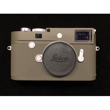 Leica M10 - P Edition Safari Matte Olive Green