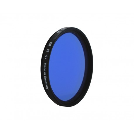 Heliopan KB 15 80A Blue 39mm Filter (BRASS)