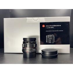 Leica 50mm f/2 ASPH APO Summicron Black Chrome (11811)