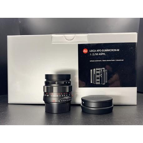 50mm f/2 ASPH APO Summicron Black Chrome (11811)