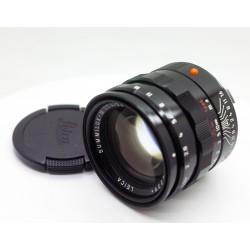 Black Paint Leica Summilux-M 50mm/f1.4 pre-asph