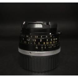 Leica Summilux 35mm F/1.4 Steel Rim Black