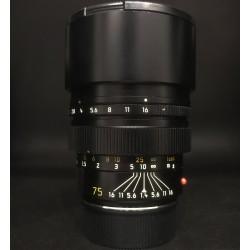 Leica Summilux-M 75mm F/1.4 Black