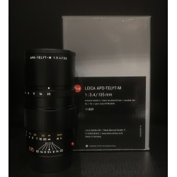 Leica Apo-Telyt-M 135mm F/3.4 Black Anodized Finish