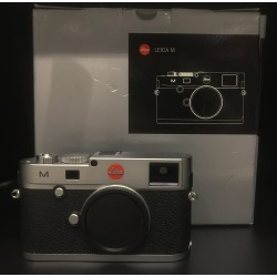Leica M (Typ 240) Digital Camera Silver Chrome (M240)