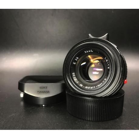 Leica Summicron-M 35mm F/2 Black (7 Element)