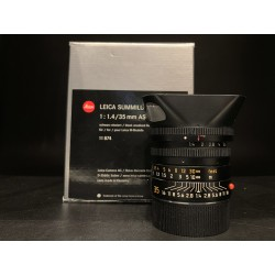 Leica Summilux-M 35mm F/1.4 Asph Black Anodized Finish 11874
