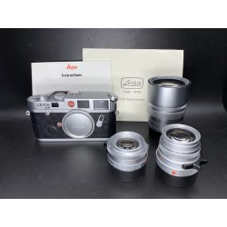 Leica M6 Film Camera With 35mm F/2 & 50mm F/2 & 90mm F/2 (LHSA Kit 25 TH Anniverary)
