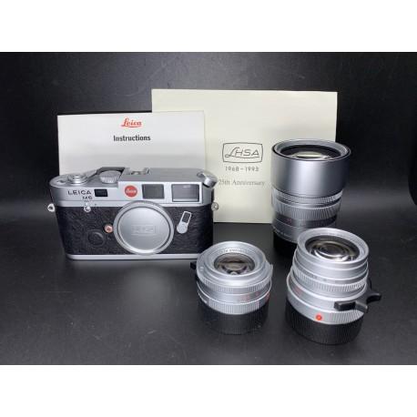 Leica M6 Film Camera With 35mm F/2 & 50mm F/2 & 90mm F/2 (LHSA Kit 25 TH Anniverary)