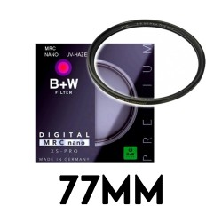 B+W MRC NANO UV-HAZE 77mm Filter