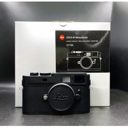 Leica M Monochrom Digital Camera Black
