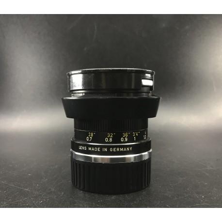 Leica Summicron 50mm F/2 black