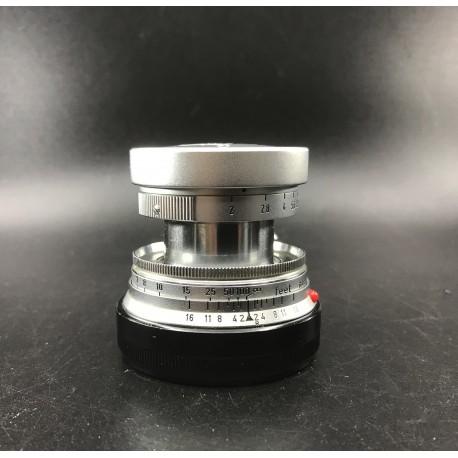 Leica Summicron 50mm F/2 silver