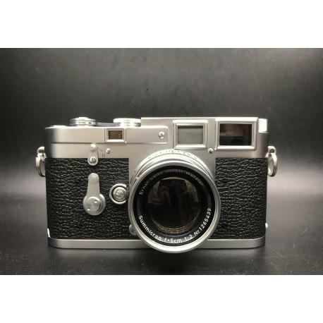 Leica M3 Film Camera With Leica Summicron 50mm F/2 Silver