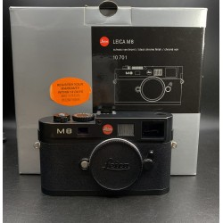 Leica M8 Digital Camera Black Chrome Finish 10701
