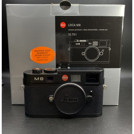 Leica M8 Digital Camera Black Chrome Finish 10701