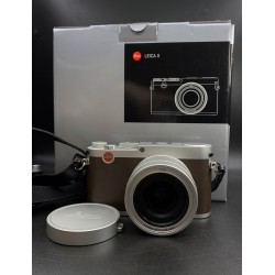 Leica X Digital Camera Silver 18441