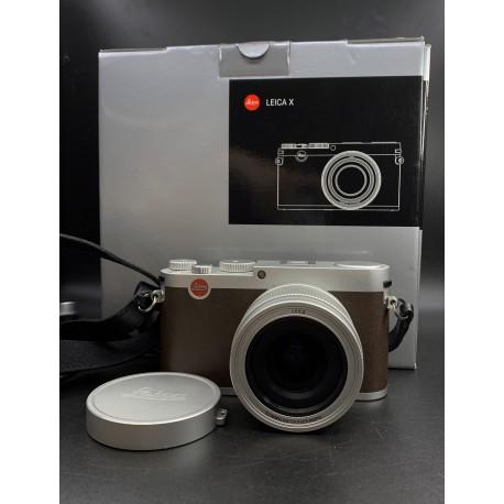 Leica X Digital Camera Silver 18441