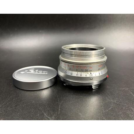 Leica Summaron 35mm F/2.8 Silver