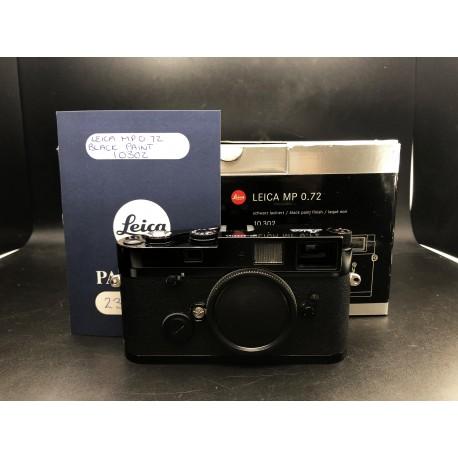 Leica MP 0.72 Black Paint Film Camera