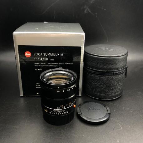 Leica Summilux_M f/1.4 50mm