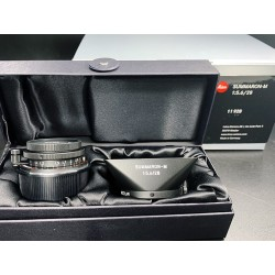 Leica Summaron-M 28mm f/5.6 Lens (Matte Black Paint) BRAND NEW 11928