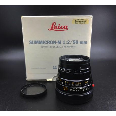 leica summicron-m 1:2/50 mm