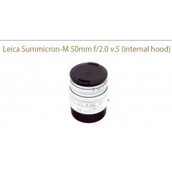 leica summicron 50/2 v.5 (internal hood)
