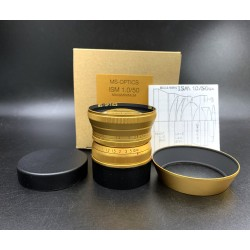 MS OPTICS ISM 50MM F/1.0 M MOUNT (GOLD)