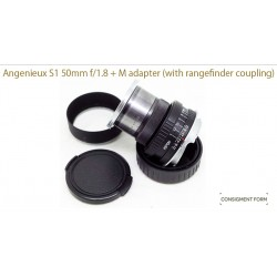 Angenieux type s1 50/1.8 (modified to leica m) (Cine Lens)