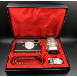 "Leica m-a ""leica shop vienna"" 25 jahre hammertone with noctilux-m 50mm f/0.95 set (Brand New)"