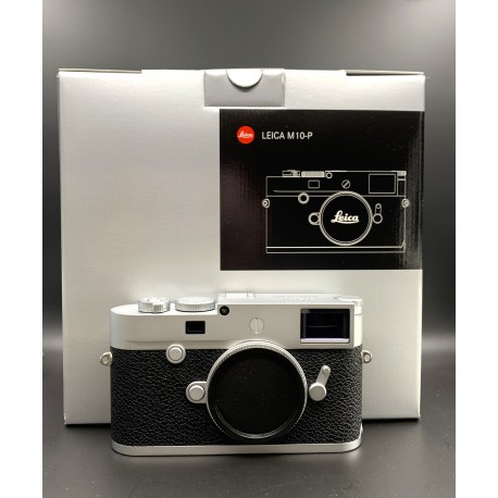 Leica M10-P Digital Rangefinder Camera (Silver Chrome) used